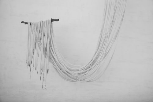 Wall Hangings by Taiana Giefer seen at Private Residence, Santa Barbara - Seed No.045: Oaxaca