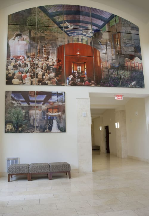 Photography by Lisa Levine seen at Temple Beth El, Charlotte - Lisa J Levine