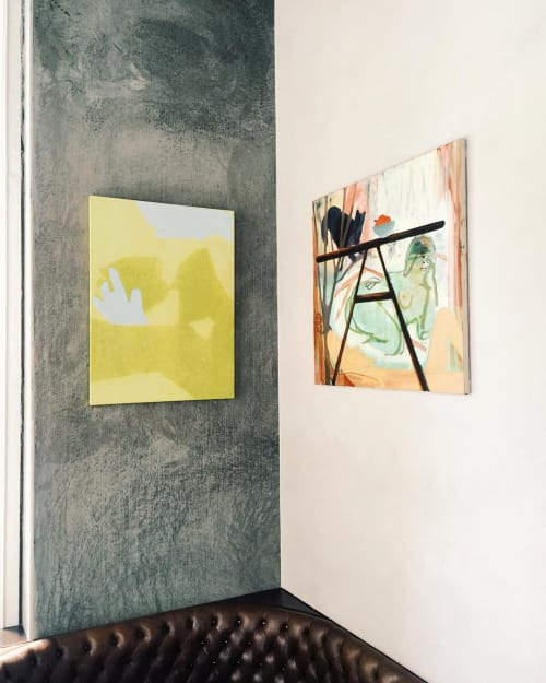 Paintings by Sarah Faux seen at Trou Normand, San Francisco - Abstract Painting