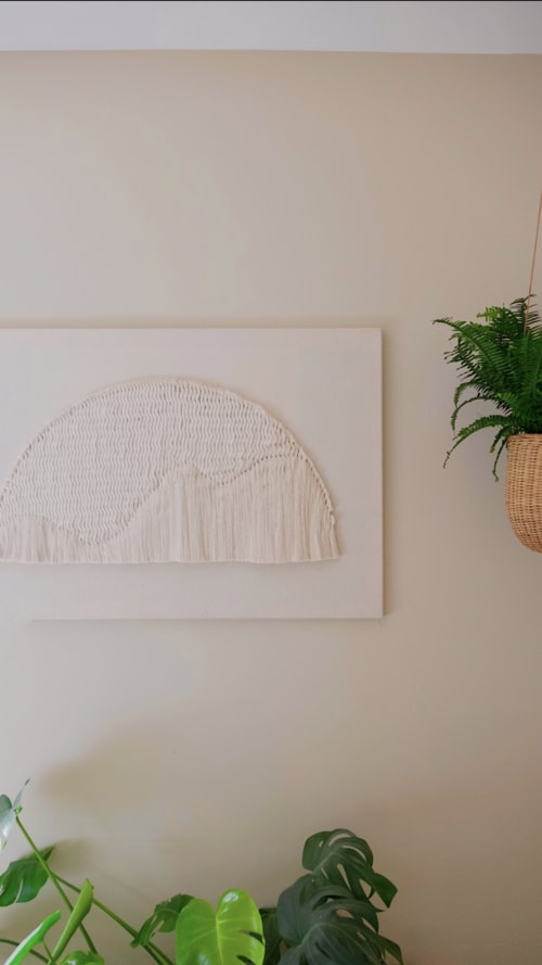 Art & Wall Decor by Tiffany Lusteg (Kindred + Copper) seen at Private Residence, San Diego - Fiber Art
