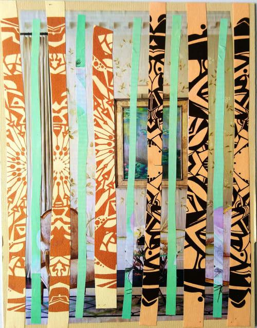 Desert Markers   Linens & Bedding by LNozickArt/Design