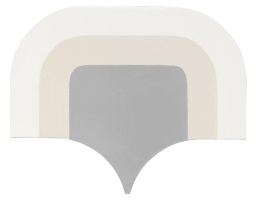 "Tiles by PIETTA DONOVAN seen at Walker Zanger Tile & Stone, New York - The Pietta Donovan Collection- ""Buderim"" Handmade Cement tile at Walker Zanger"