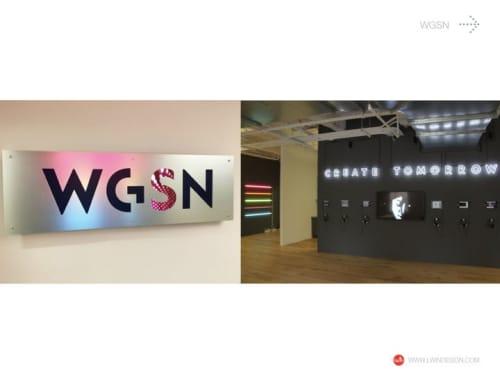 Interior Design by Julian Lwin: Lwindesign seen at New York, New York - WGSN Office Design