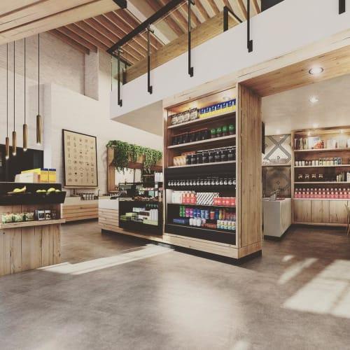 Interior Design by Bells & Whistles seen at The Coffee Bean & Tea Leaf, Santa Monica - Interior Design