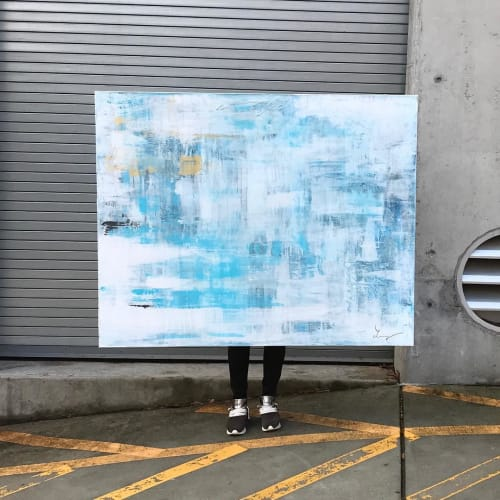 Funky Cold Medina | Paintings by Lucy Wellborn Art