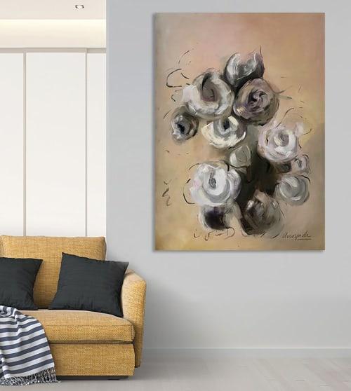 Paintings by Cecilia Arrospide seen at Creator's Studio, Lima - INMENSIDAD