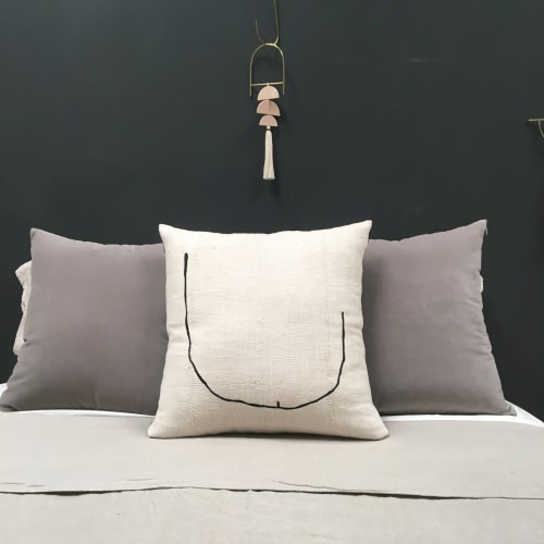 Pillows by küdd:krig HOME seen at Private Residence, Oakland - Tookus Pillow