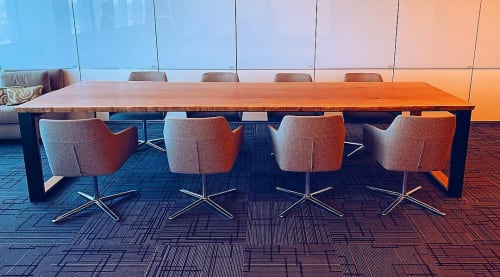 Tables by Art Builders Guild seen at DaVita Kidney Care, Denver - Conference Table