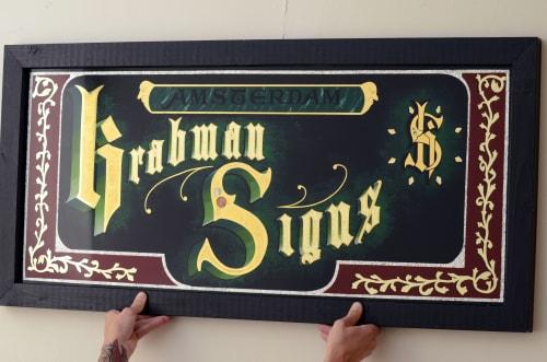 Krabman Signs