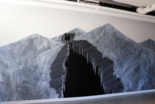 Murals by Katy Ann Gilmore seen at Seattle, Seattle - Divide, 2016