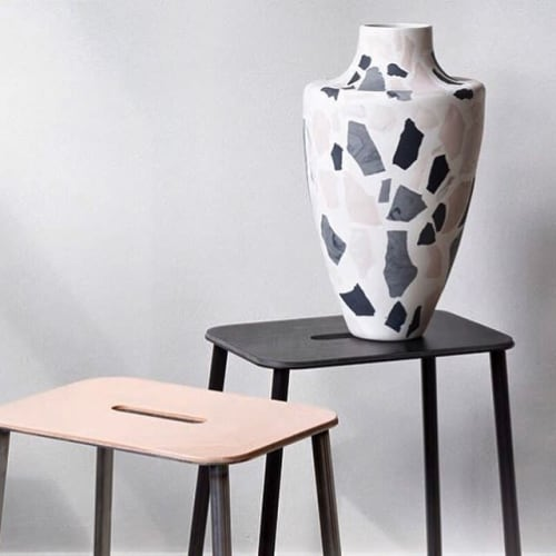 Vases & Vessels by Natascha Madeiski seen at London, London - Terrazzo Vases