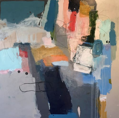 Paintings by Terri Froelich Fine Art at Private Residence, San Rafael - Openness 1