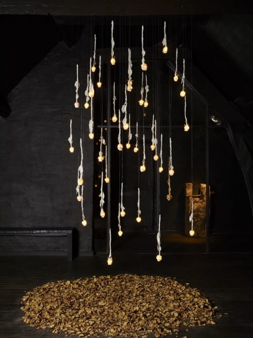 Lighting Design by Coup-de-foudre by Arickx-Vermandere seen at Private Residence, Bordeaux - Mozart