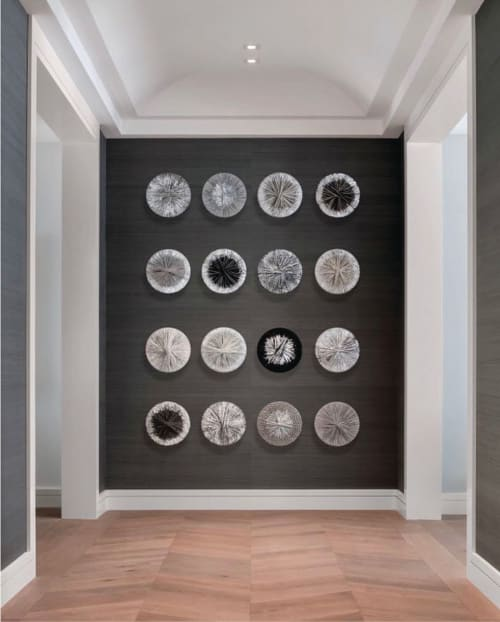 Wall Hangings by Liz Robb seen at Private Residence, San Francisco - Icelandic Circles