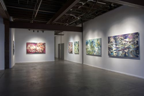 Paintings by Kate Colin Wood seen at Private Residence, Dallas - Spontaneity 3