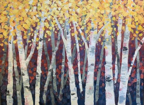 Aspen Glow | Paintings by Lelia Davis