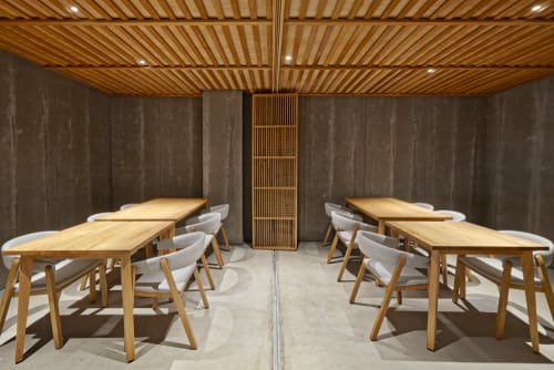 Chairs by Missana seen at Nozomi Sushi Bar, València - Oslo Armchairs