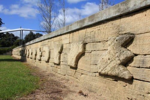 Public Sculptures by Kashmir Rouw seen at South Regional TAFE - Margaret River Campus, Margaret River - Margaret River Education Campus 2000