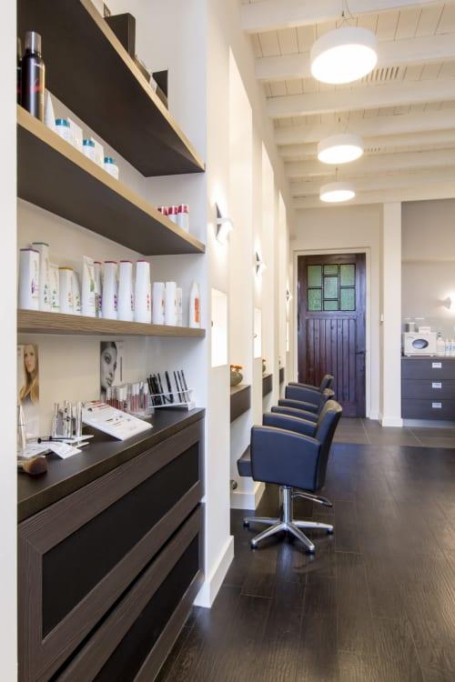 Interior Design by B-TOO interieurarchitecten seen at Haarmode C'est Ca, Valkenswaard - Haarmode C'est Ca Valkenswaard