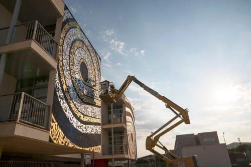 Street Murals by Said Dokinsy seen at Ibiza, Ibiza - Nos Falta La Realidad