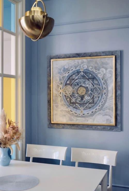 Paintings by Oriental Wind (Maria Trishetskaya) seen at Private Residence, Moscow - Cloud Atlas