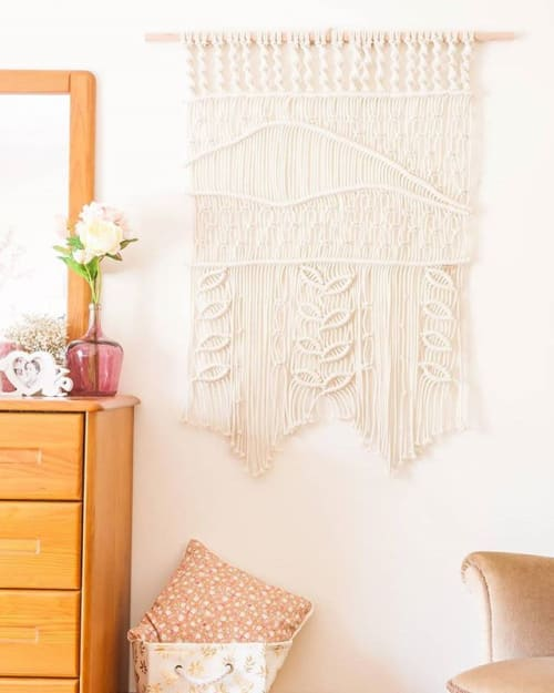 Macrame Wall Hanging by Endlessly Design seen at Private Residence, Braga - Bloom