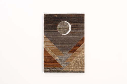 Waxing Crescent | Wall Hangings by Craig Forget