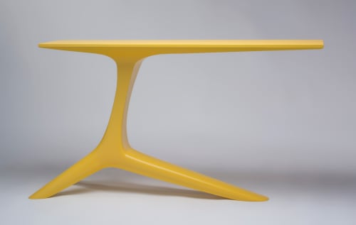 Yellow Crane Console Table | Tables by Eben Blaney Furniture