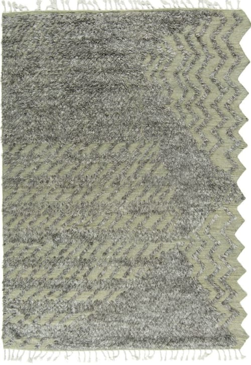 Rugs by Mehraban seen at Mehraban Rugs, West Hollywood - Lido, ZigZigZag Collection