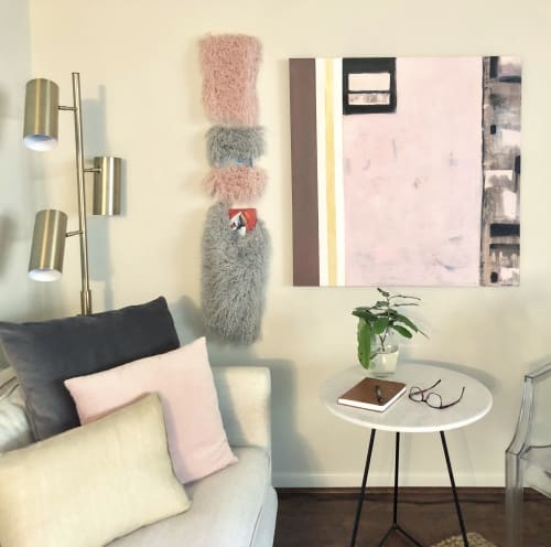 "Paintings by Debbie Daise Art    @Debbiedaiseart seen at Dallas, Dallas - Windows, 36"" X 36"","