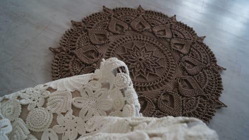 """Rugs by Lisova Oksana seen at Private Residence, Krasnodar - Crochet Rugs """"Lis"""""""