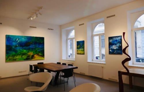 Art Curation by Erzsebet Nagy Saar seen at Amart Austrian Modern Art - Galerie für moderne Kunst, Wien - Wandlungen