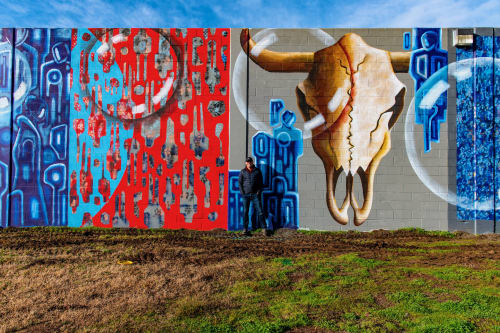 Gus Harper - Paintings and Street Murals