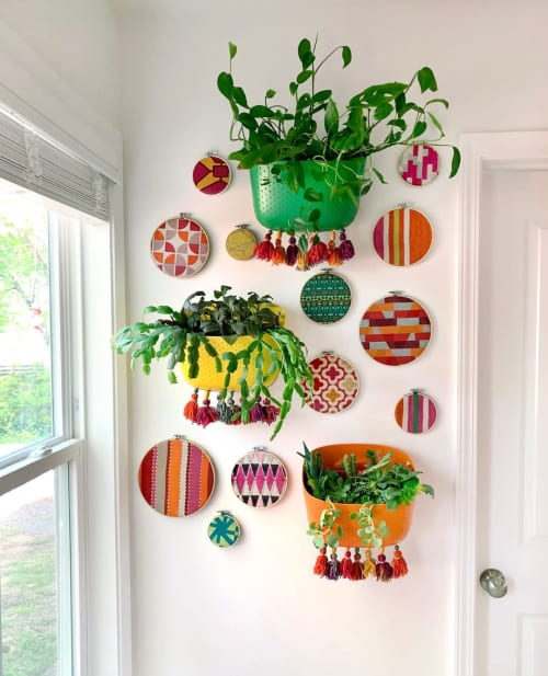 Vases & Vessels by WallyGro seen at Kim LaPlante - Dig and Hang - Wally Eco planters