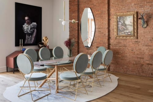 Chairs by Moroso seen at Private Residence, Manhattan, New York - Chairs