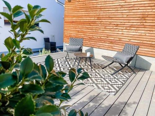 Chairs by Dänisches Bettenlager seen at Kristina Tereza's Home - Garden Chair