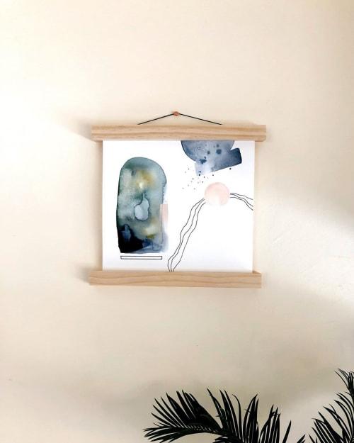 Paintings by Quinnarie Studio seen at Creator's Studio, Bellingham - Three Of Us