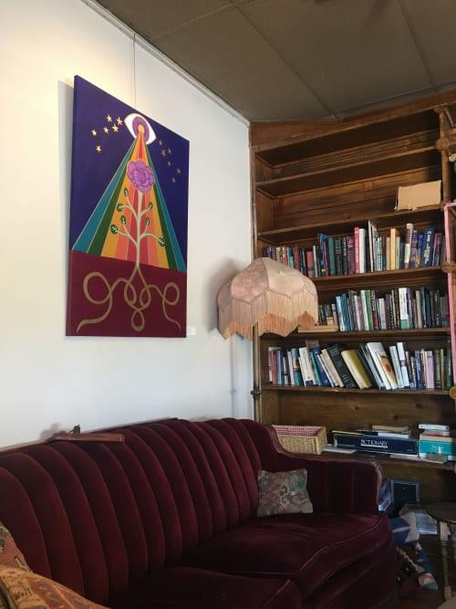 Paintings by Jillian Selene Art seen at Tulsa, Tulsa - Illuminated Spectrum