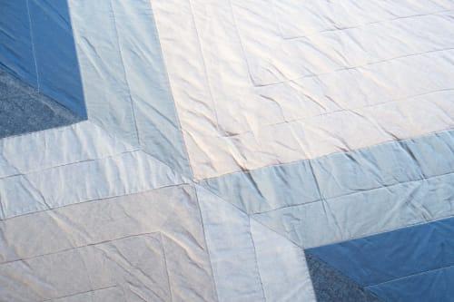 Linens & Bedding by Vacilando Studios seen at Creator's Studio, San Marcos - Crescent Quilt - Queen Size