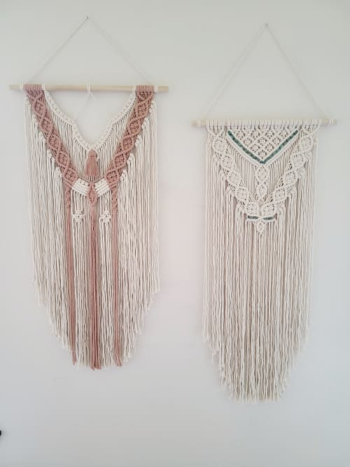 Macrame Wall Hanging by Sweet Home Alberti seen at Private Residence, Vancouver - Macrame Wall Hanging - Emma