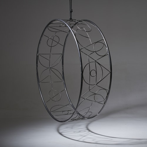 Studio Stirling Ndebele Wheel | Chairs by Studio Stirling