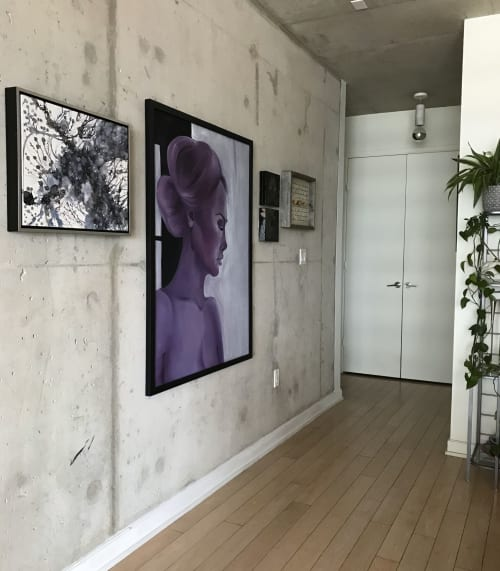 Paintings by Mishel Schwartz seen at Private Residence, Toronto - Dream State