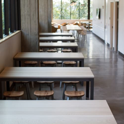 Tables by Chadhaus seen at University of Washington, Seattle - Center Table