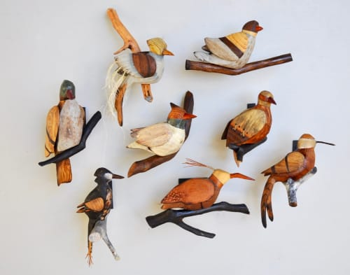 Art & Wall Decor by C. Condon seen at Private Residence - 8 songbirds