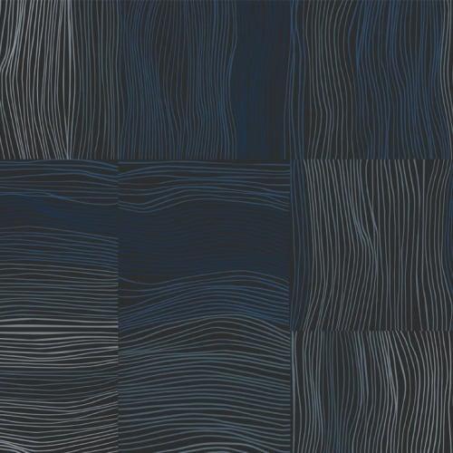Wallpaper by Jill Malek Wallpaper - Nest | Navy