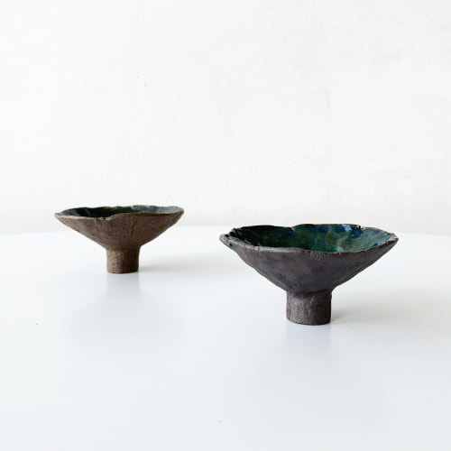 Cups by AKIKO TSUJI seen at Tekuno, San Francisco - Japanese Tea Cup Collection