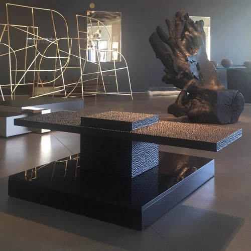 Tables by John Eric Byers seen at Twentieth, Los Angeles - T1 Table 2018