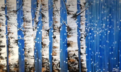 """""""Where the trees stand still""""-SOLD 