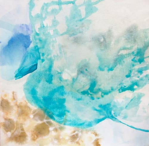 Paintings by Wendy Grace seen at Melbourne, Melbourne - sea nymphs