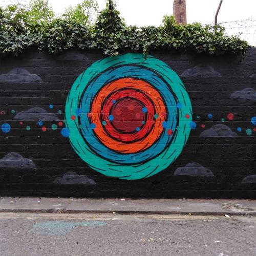 Eye Create Lines - Street Murals and Public Art